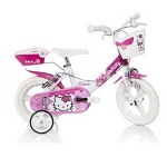 Bicicleta pentru fetite Hello Kitty diametru 12 inch