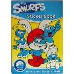 Carte cu stickere Strumfii
