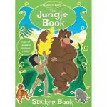 Carte de colorat cu stickere Cartea Junglei