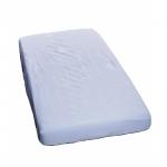 Cearceaf din bumbac cu elastic 120x60 cm Albastru