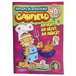 Carte cu activitati si stickere Garfield Am venit, am vazut, am mancat