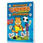 Garfield Carte de colorat 3: La Cupa Mondiala- Cu jocuri si Autocolante