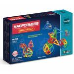 Joc de constructie magnetic MAGFORMERS - Creator - Set creativ (90 piese)