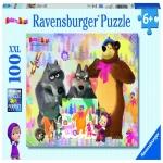 Puzzle Masha Si Ursul 100 Piese