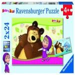 Puzzle Masha Si Ursul 2x24 Piese