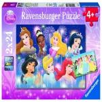 Puzzle Printesele Disney 2x24 Piese