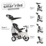 Tricicleta Smart Trike Dazzle 5 in 1 Black White