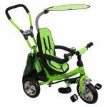 Tricicleta cu sezut reversibil Safari Break 360 Green