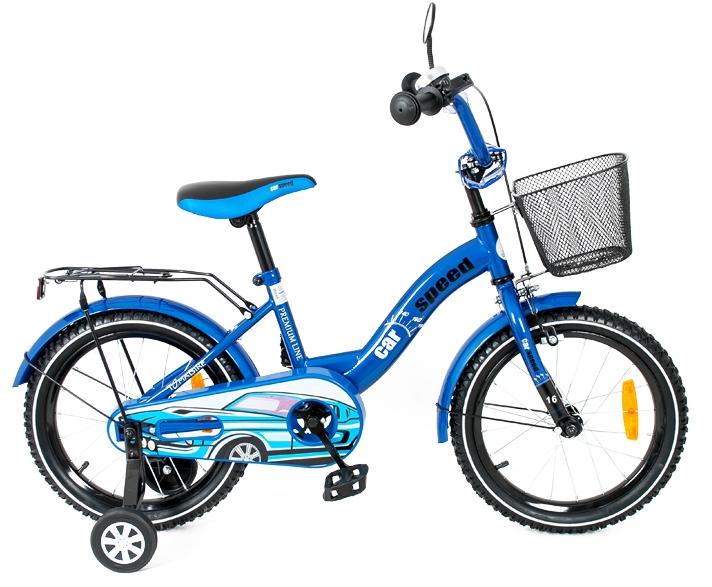 Bicicleta copii Toma Car Speed Blue 12