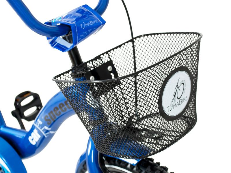 Bicicleta copii Toma Car Speed Blue 18
