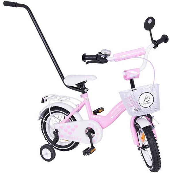 Bicicleta copii Toma Exclusive 1203 Pink din categoria La Plimbare de la MYKIDS