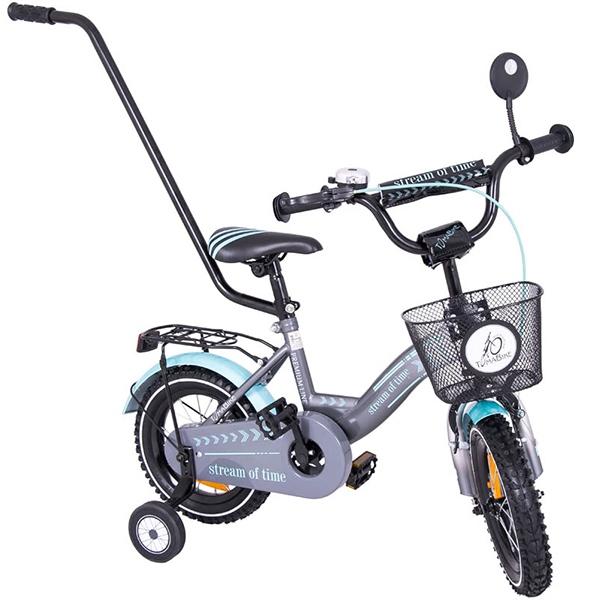 Bicicleta copii Toma Exclusive 1204 Turquoise din categoria La Plimbare de la MYKIDS