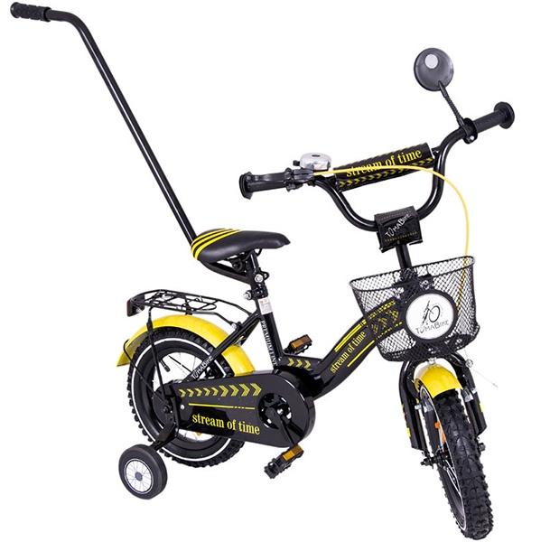 Bicicleta copii Toma Exclusive 1205 Yellow