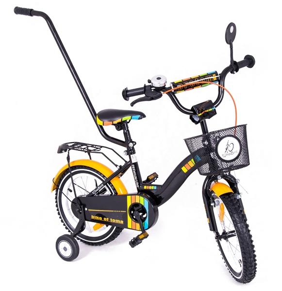 Bicicleta copii Toma Exclusive 1402 Orange