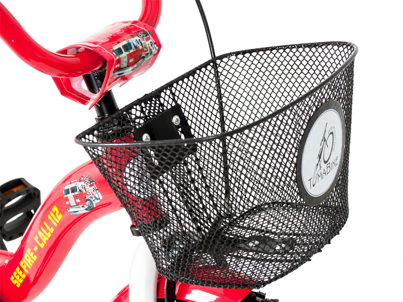 Bicicleta copii Toma Fire Station Red 18