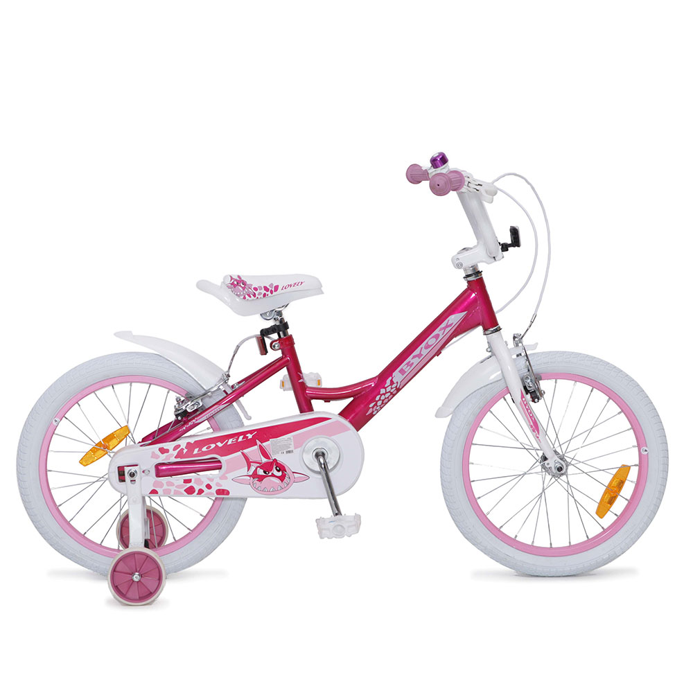 Bicicleta pentru fetite Byox Lovely 18 inch