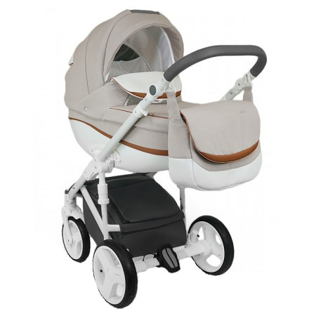Carucior copii 3 in 1 Bexa Ideal Amo Beige