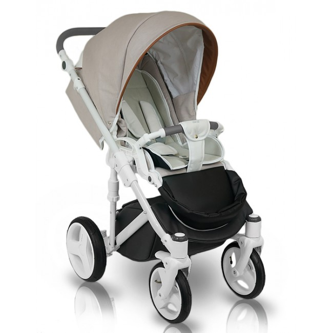 Carucior copii 3 in 1 Bexa Ideal Beige
