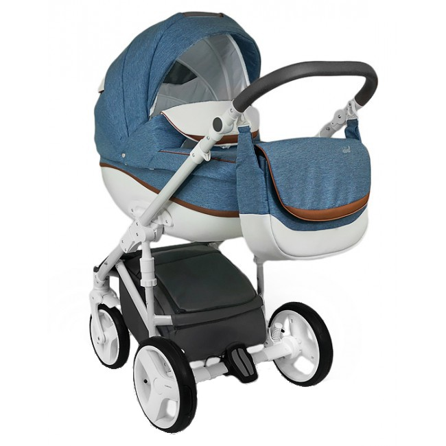 Carucior copii 3 in 1 Bexa Ideal Amo Jeans