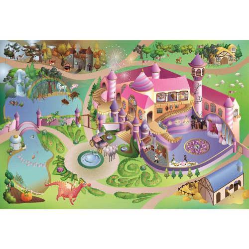 Covoras de Joaca Connect cu Grip - Castel Princess