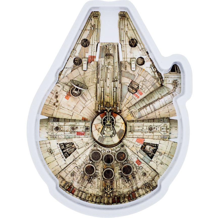 Farfurie Melamina Star Wars Millennium Falcon Lulabi 8340400-m