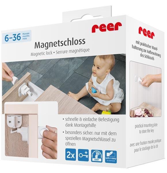 Incuietoare magnetica pentru sertare si usi de dulapuri REER 51010
