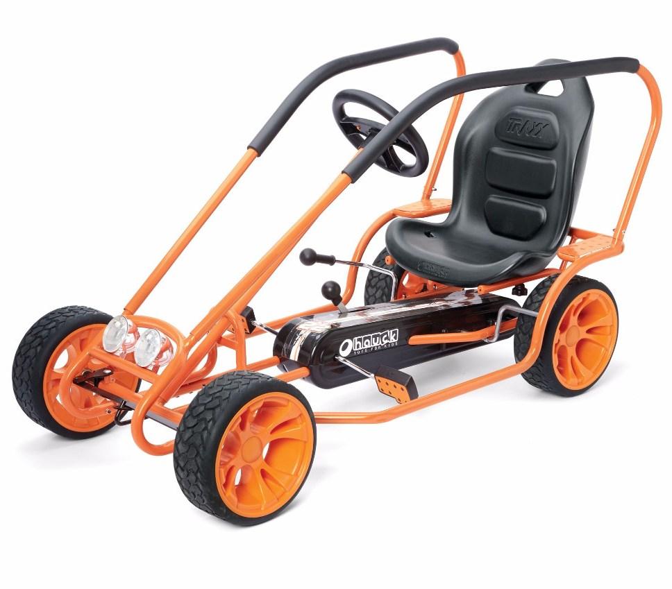 Kart Cu Pedale Pentru Copii Go Kart Thunder Ii Orange