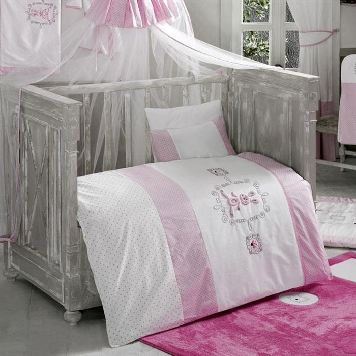 Set Lenjerie Rabitto Pink