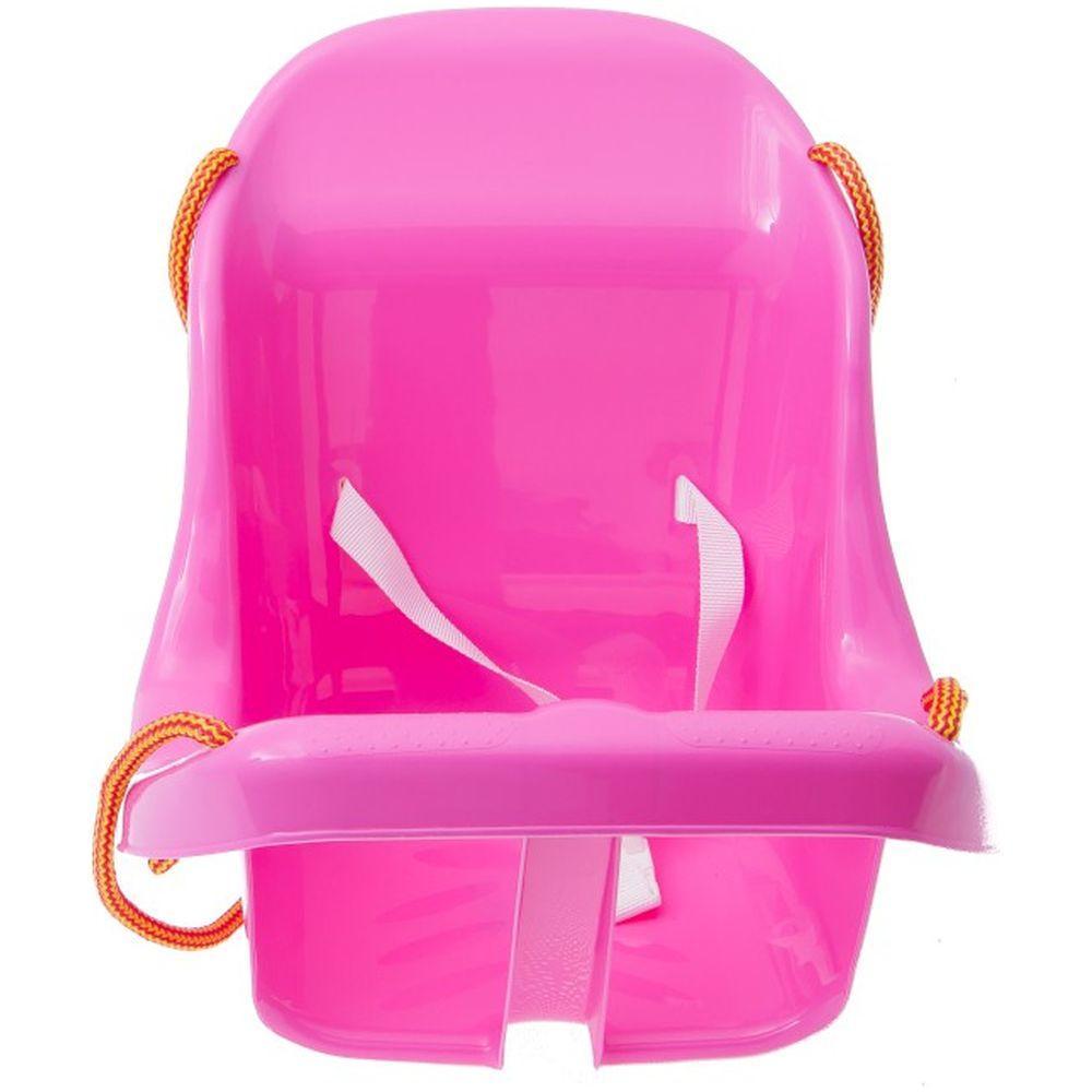 Leagan din plastic Tega Baby roz imagine