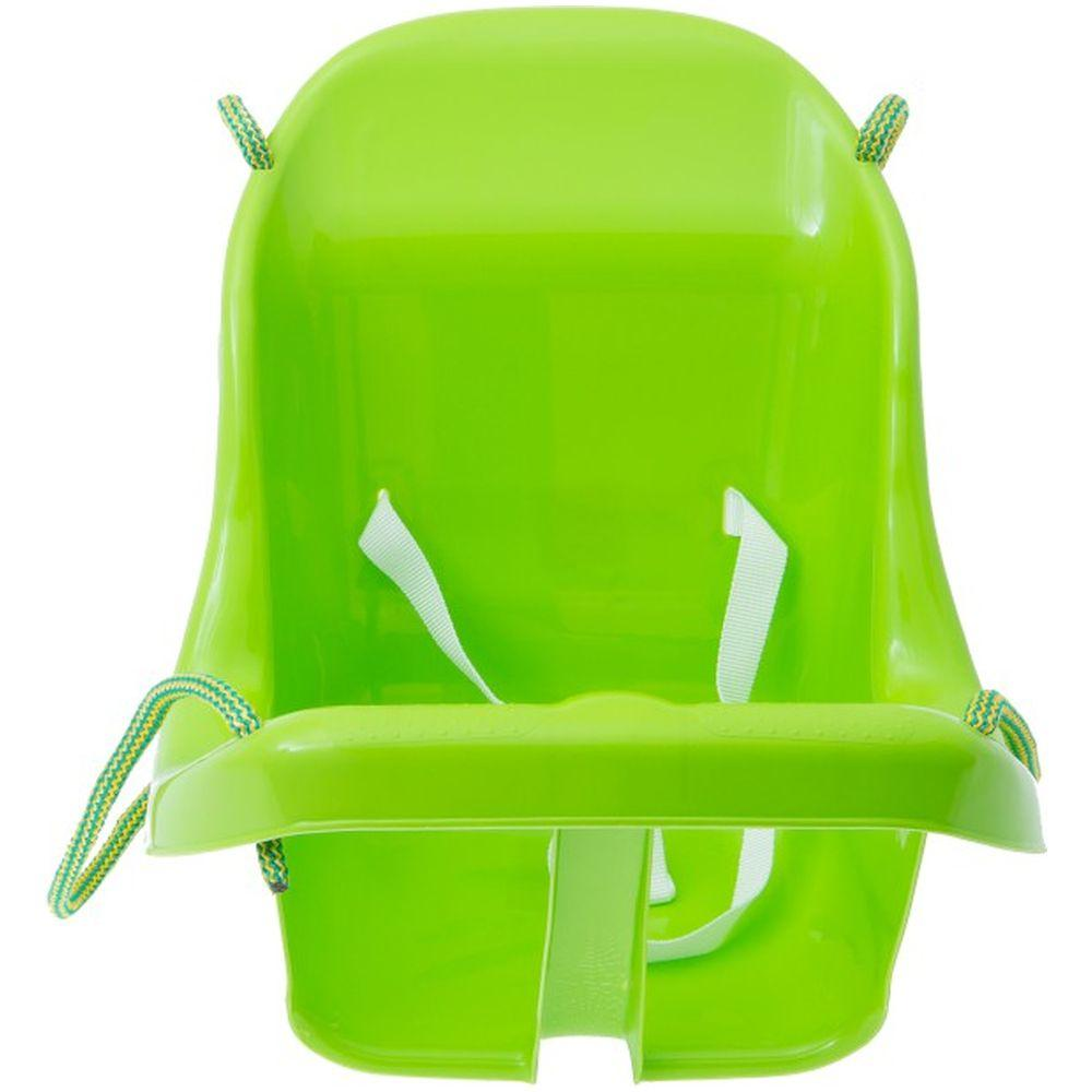 Leagan din plastic Tega Baby verde deschis imagine