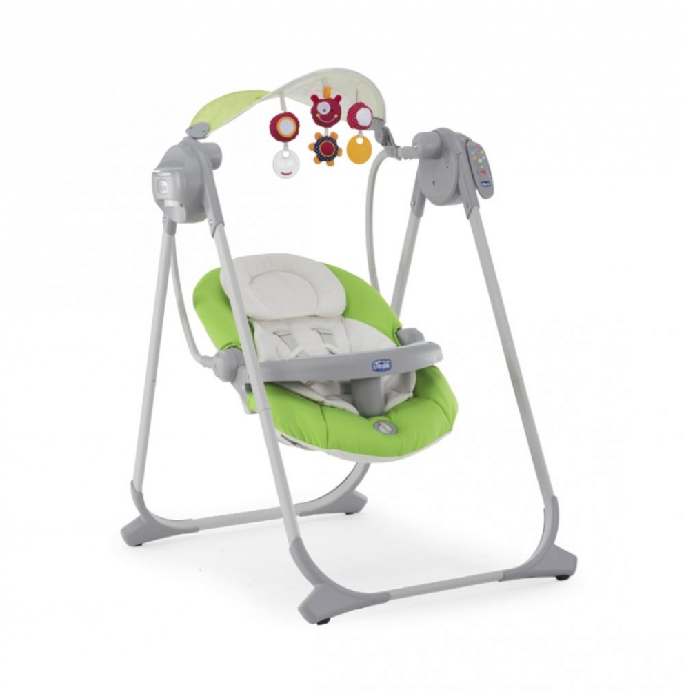 Leagan-balansoar Chicco Polly Swing UP, Green