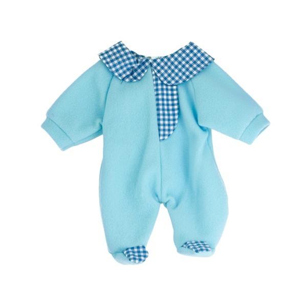 Pijama albastra papusi 21 cm Miniland