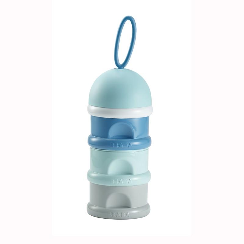 Recipient lapte praf Bleu