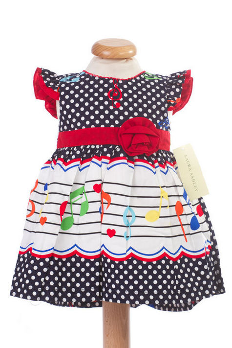 Rochita bebeluse cu note muzicale (Masura 68 (3-6 luni))