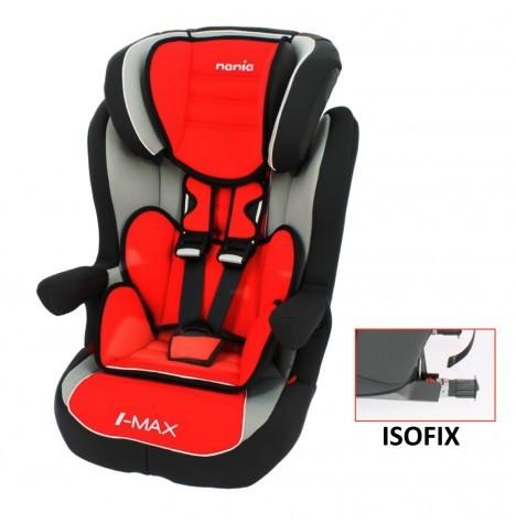 Scaun auto Isofix  I-max SP Agora carmin Nania