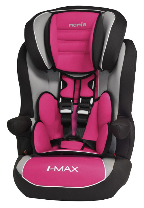 Scaun auto Isofix  I-max SP Corail Framboise Nania