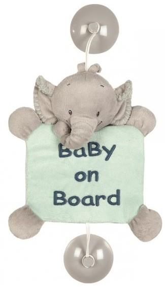 Semn de avertizare Baby on Board Elefantelul Jack