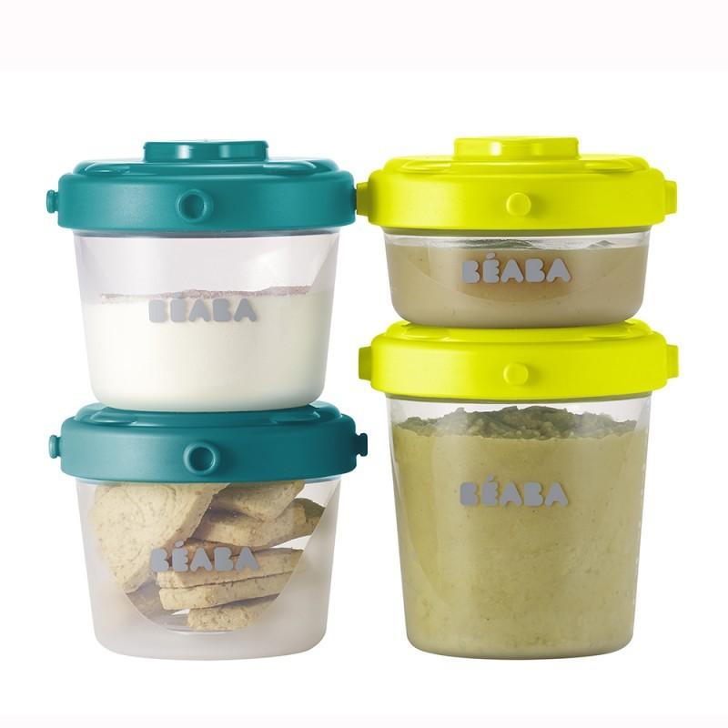 Set 6 recipiente ermetice pentru hrana (2X60ml, 4X120ml)