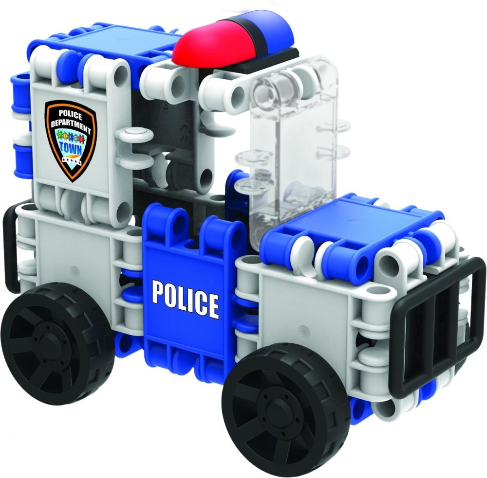 Set 8 in 1 Clics - Echipa de salvare - Politie