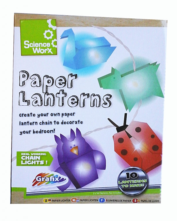 Set creatie lampioane tip origami - Grafix