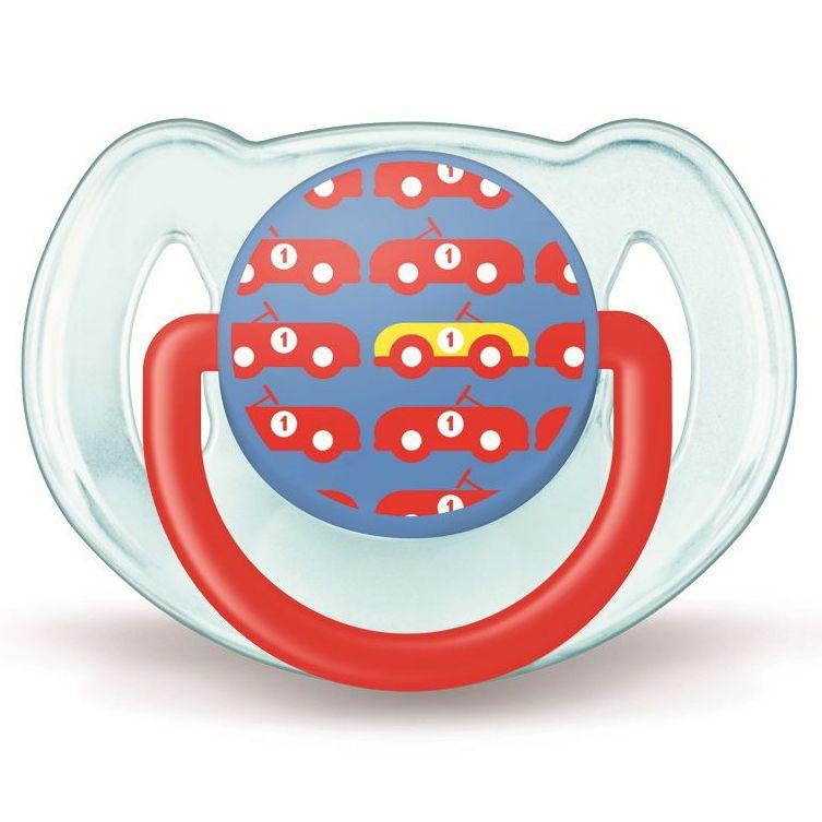 Suzeta design pentru baieti 1 buc 6 - 18 luni nu contine BPA