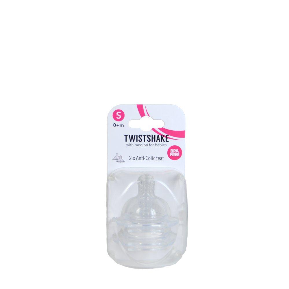 Tetina Twistshake S (0+ luni)
