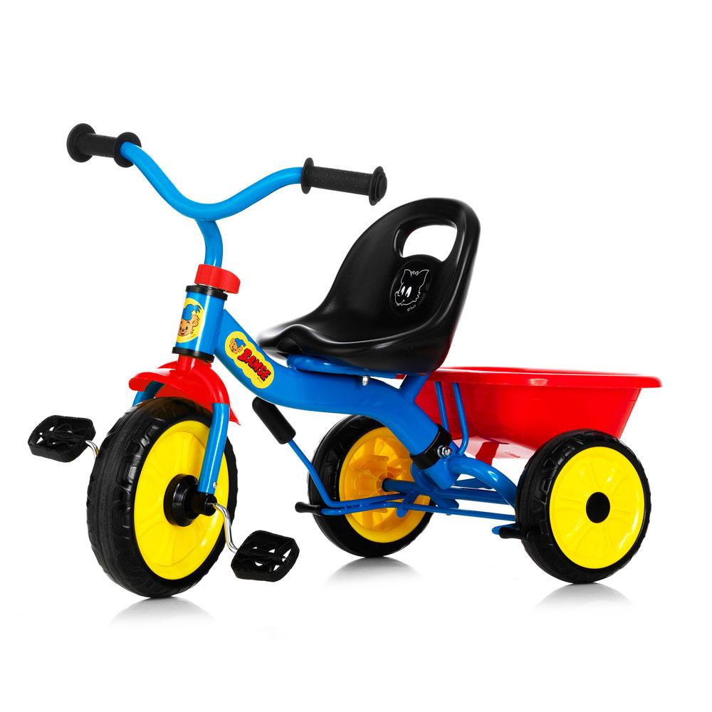 Tricicleta pentru copii cu maner Bamse Nordic Hoj