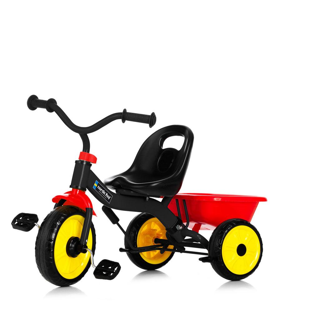 Tricicleta pentru copii cu maner Nordic Hoj