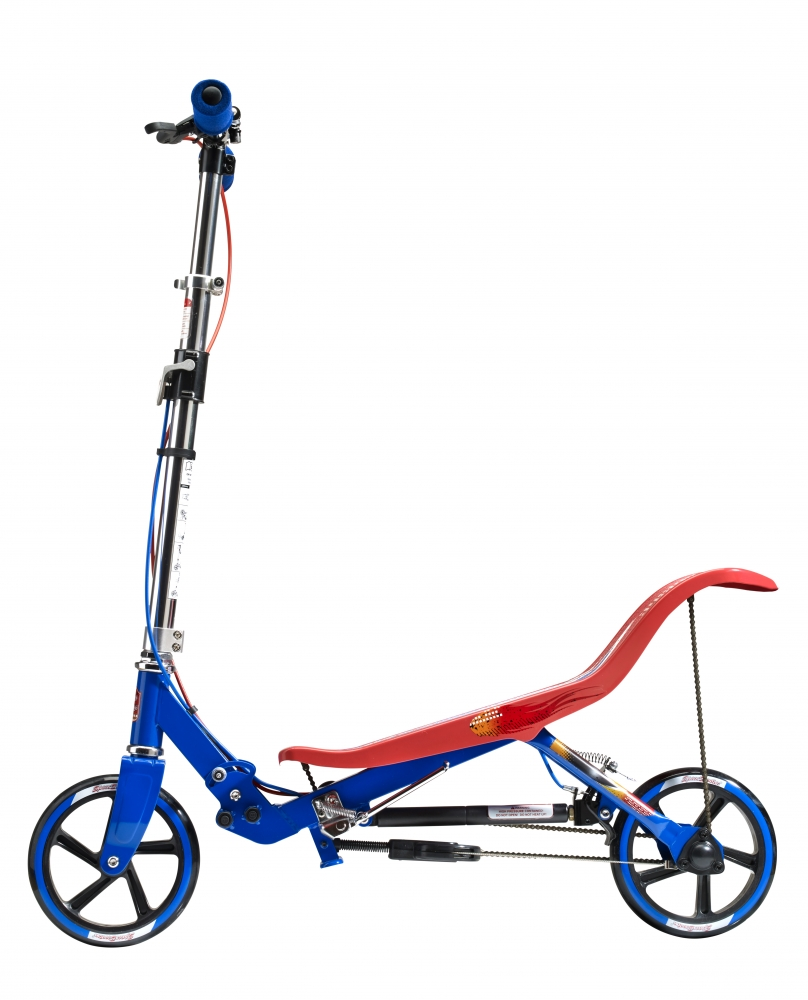 Trotineta X580 Series Space Scooter Rosu-Albastru