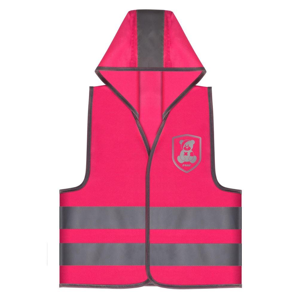 Vesta de siguranta MyBuddyGuard Elefant roz REER 53022 imagine