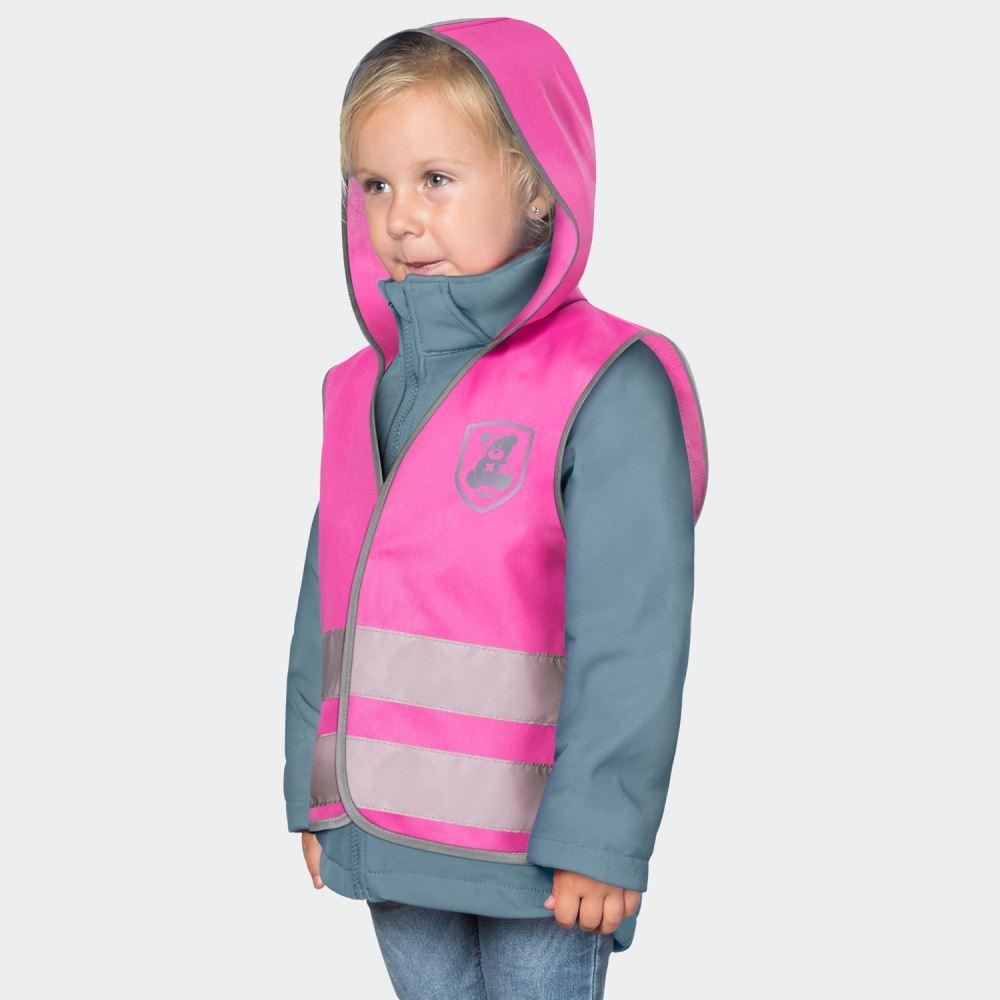 REER Vesta de siguranta MyBuddyGuard Elefant roz REER 53022