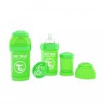 Biberon anti-colici 180 ml Twistshake Verde