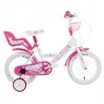 Bicicleta copii Pinky Girl 14 Schiano Kids