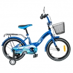 Bicicleta copii Toma Car Speed Blue 12